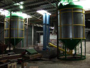 Модернизация карусельной зерносушилки